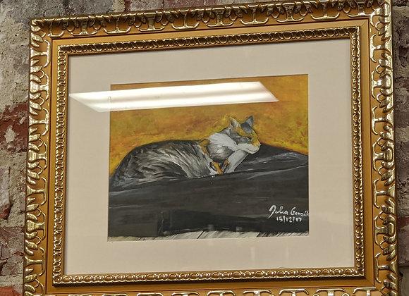 Sparkle Cat Rescue Art Action Piece