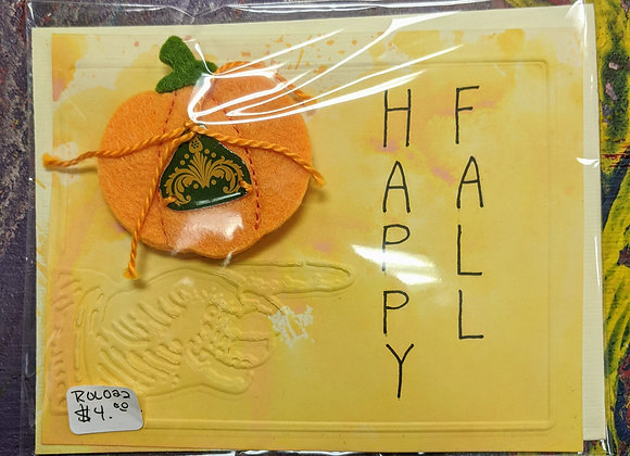Greeting Cards - Happy Fall