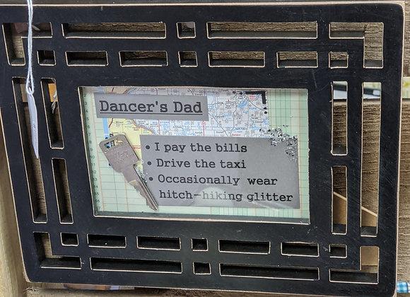 Dancer Dad Frame