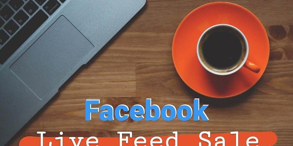 Facebook Live Feed Sale!