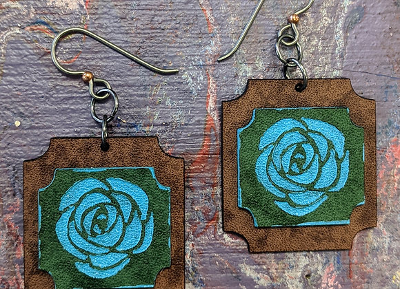 Jewelry - Simply Adorned Hand Painted Earrings