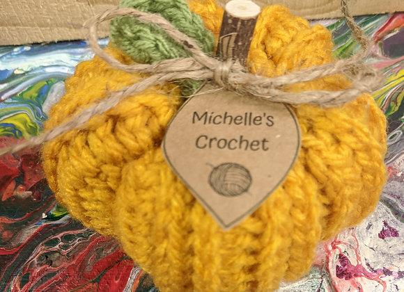 Fall Decor - Crochet Pumpkins