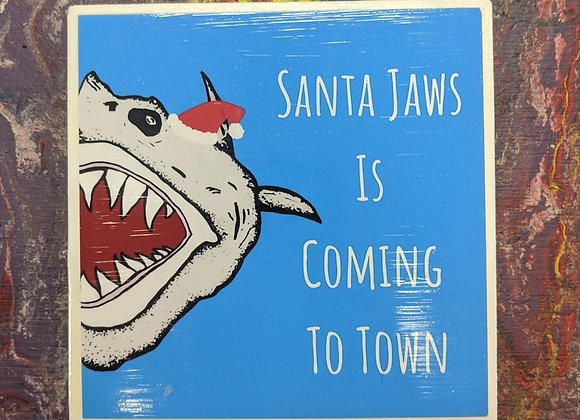 Santa Jaws is Coming to Town