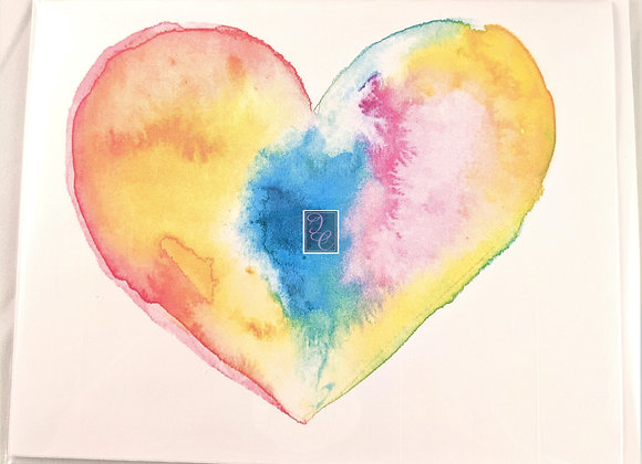 You Are Loved Watercolor Card