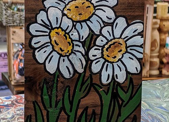Acrylic Painting - Hello Daisies Wall Art