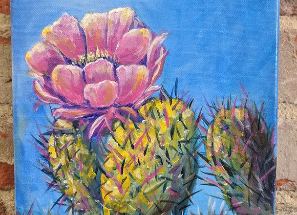 Acrylic Painting - Cactus