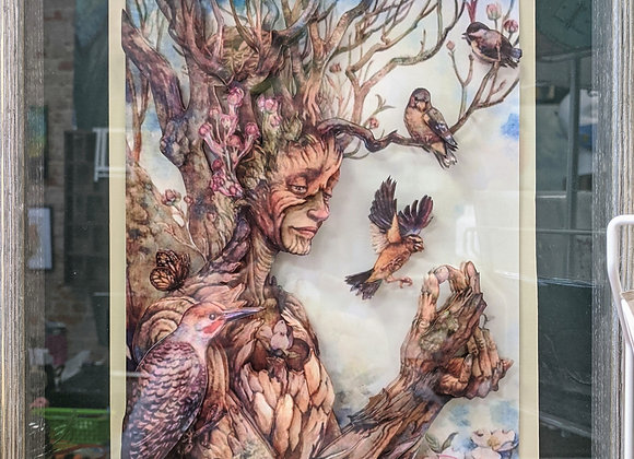 Tree Spirit 3D Wall Art