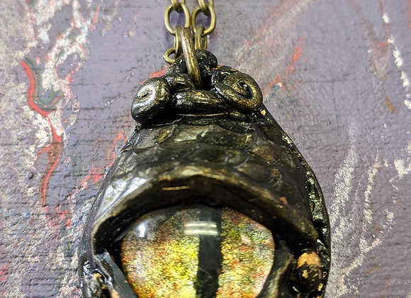 Jewelry - Dragon Eye Pendent Necklace