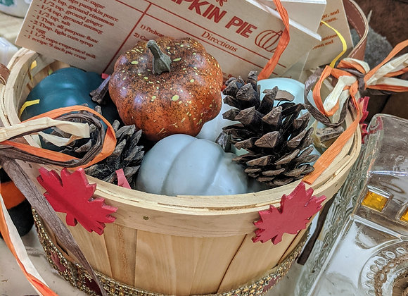 Fall Decor - Harvest Basket