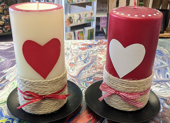 Home Decor - Love Candle