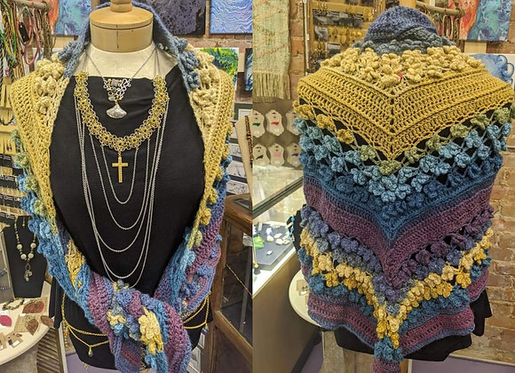 Accessories -  Crocheted Shawl