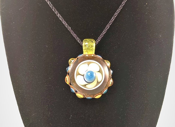 Jewelry - Turtle Shell Borosilicate Glass Pendant