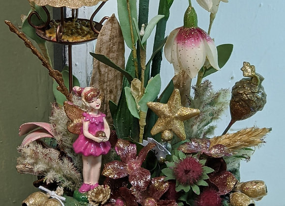 Home Decor - Fairy Garden Basket