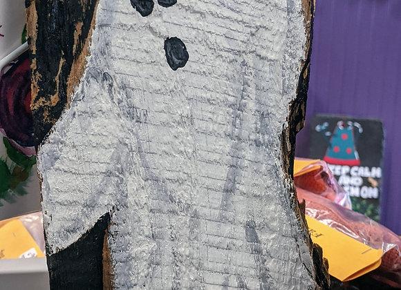 Ghost on Wood