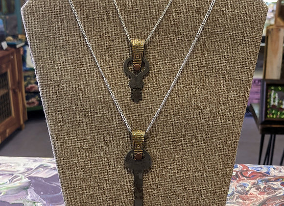 Jewelry - Adorned Antique Key Necklaces