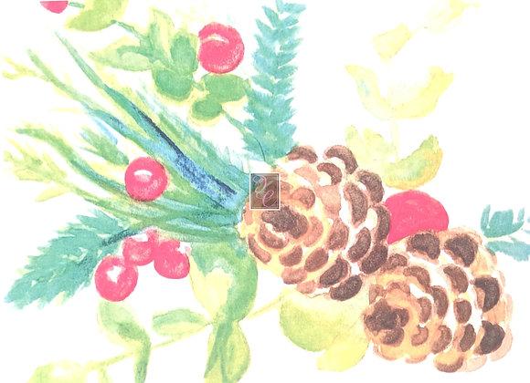 Happy Holidays in Watercolor