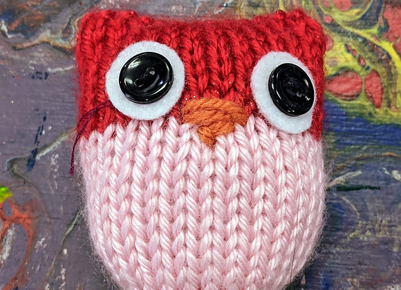 Toys - Small Knitted Owls