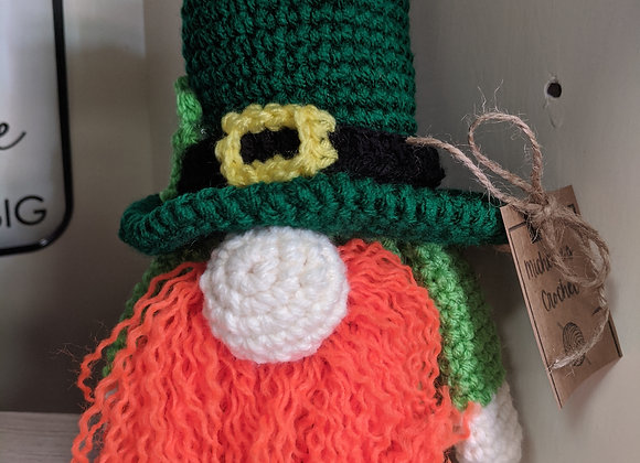Crocheted Leprechaun Gnomes