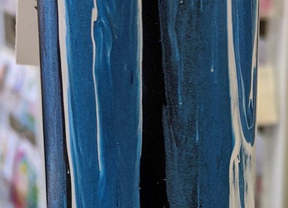 Skinny Pour Painted Vases