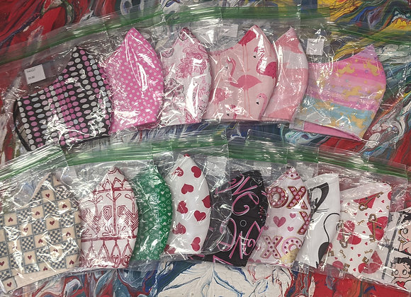 Valentine's Day Themed Masks