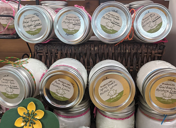 Moisture Lotion and Moisture Cream