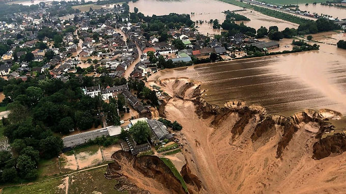 Floodwaters in western Europe are still rising, with a death toll of more than 120 people