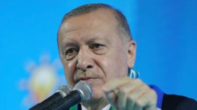 """""""Turkey's president wishes to improve testy relations with US"""""""