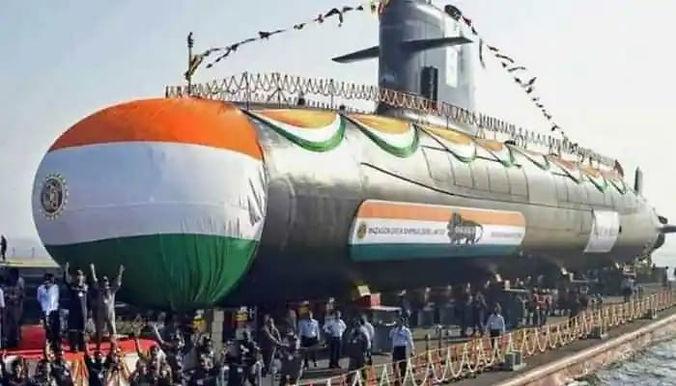 """INS Karanj, third Scorpene-Class Submarine, commissioned into Indian Navy"""