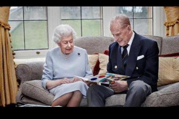 BRITAIN'S QUEEN ELIZABETH II AND PRINCE PHILIP CELEBRATE 73rd ANNIVERSARY