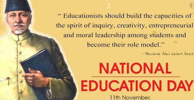 Every year, India celebrates National Education Day on November 11