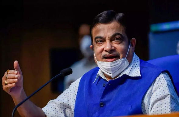 Gadkari lays foundation stone for Rs 13,000 cr road projects in Telangana.