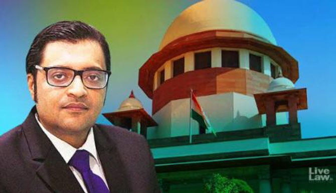 Arnab Goswami remanded to judicial custody for 14 days, till November 18 in the case of abetment to suicide