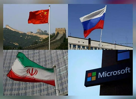 Hackers from China, Russia, Iran targeting US elections: Microsoft