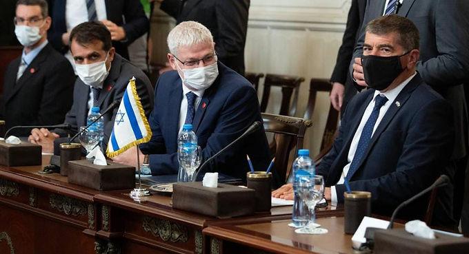 Israel, Egypt meet over shaky Gaza truce