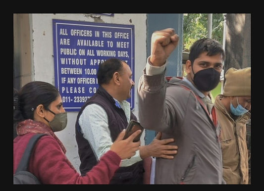 The Bail Plea of Mandeep Punia has been dismissed by the Delhi Court in the Sunday evening, sending him to a legal authority for 14 days under the Delhi Police.