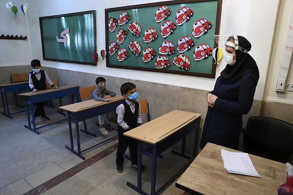 Iran begins new school year amid virus concerns