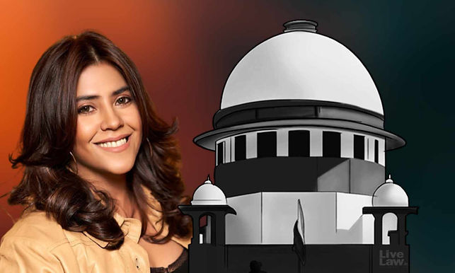 Supreme Court Grants interim Protection from arrest to Ekta Kapoor on FIR against her over alleged objectionable content in web-series XXX season 2