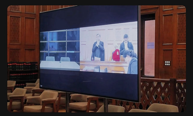 Neckbands & Broadbands : of lawyers attending VC hearings from non-office spaces: