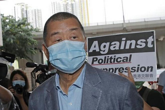 Hong Kong media tycoon Jimmy Lai charged under a security law