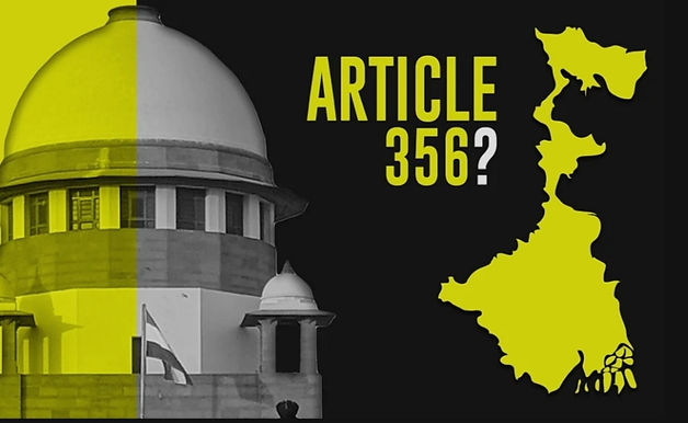 Plea in Supreme Court seeks declaration under Article 356 to consider imposing President's rule in West Bengal: