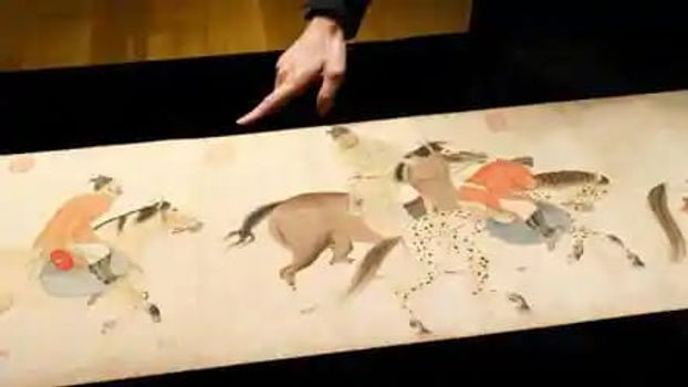 700 –Year –Old Chinese scroll sells for $41.8million in Hong kong.