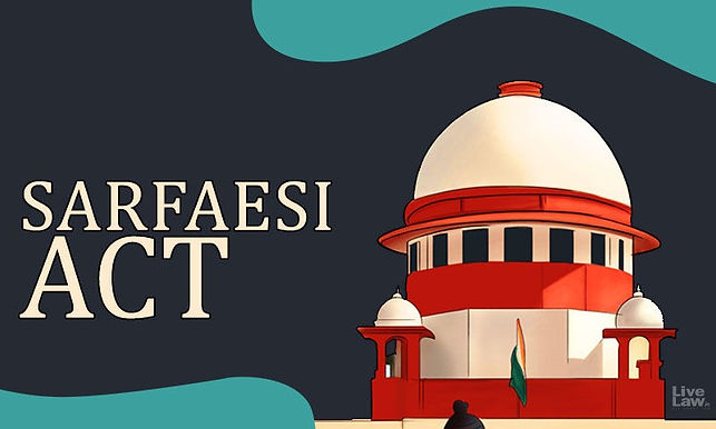 Interim Order In Writ Petition Challenging SARFAESI Proceedings Should Generally Not Be Passed Without Hearing Secured Creditors: Supreme Court