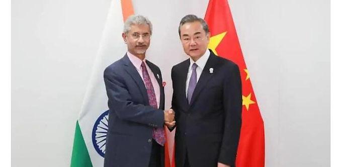 """Jaishankar talks to Chinese counterpart, India-China to establish hotline says Chinese Foreign Ministry"""