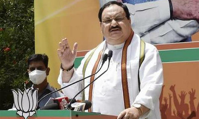 """""""Opposition quarantined itself during pandemic: Nadda"""""""
