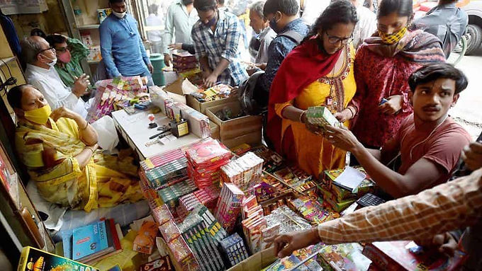To draw a 'balance,' Haryana allows bursting of firecrackers for 2 hours on Diwali: