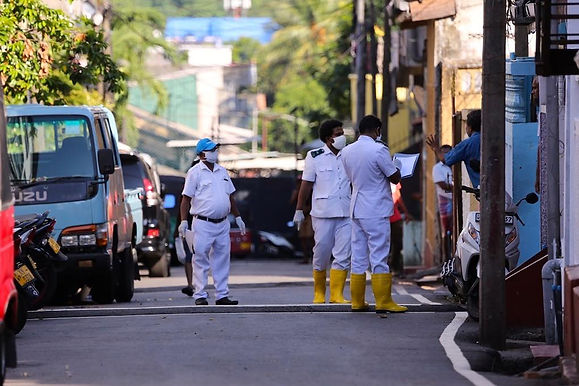 After Coronavirus surge Colombo the Capital of Srilanka to go into lockdown