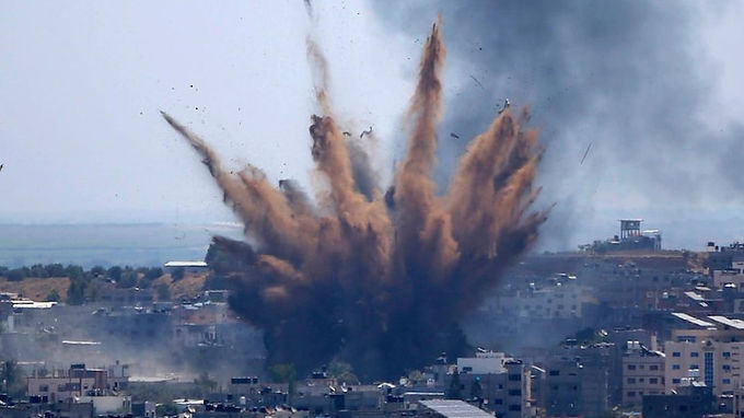 Israel launches fresh wave of airstrikes across Gaza even as US calls for de-escalation: