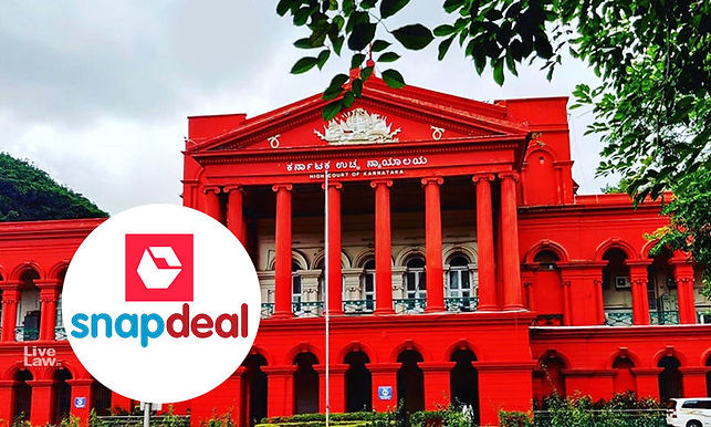 """Internet intermediary not liable for actions of vendors on online Marketplace: Karnataka high court quashes case against """"Snapdeal"""""""