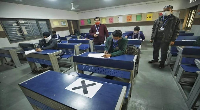 Gujarat seeks Centre help to jab all above 18 for Class 12 exam