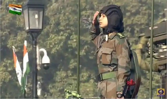 Captain Preeti Choudhary, Indian Army's Only Woman Contingent Commander Led R-Day Parade 2021